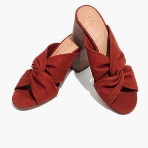 Madewell Sari Crisscross Sandal 6.5